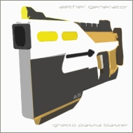 aether generator  ::  ghetto plasmablaster